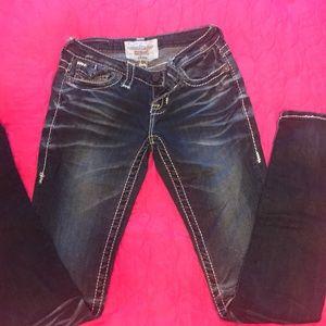 Big star skinny jeans sz 25 L